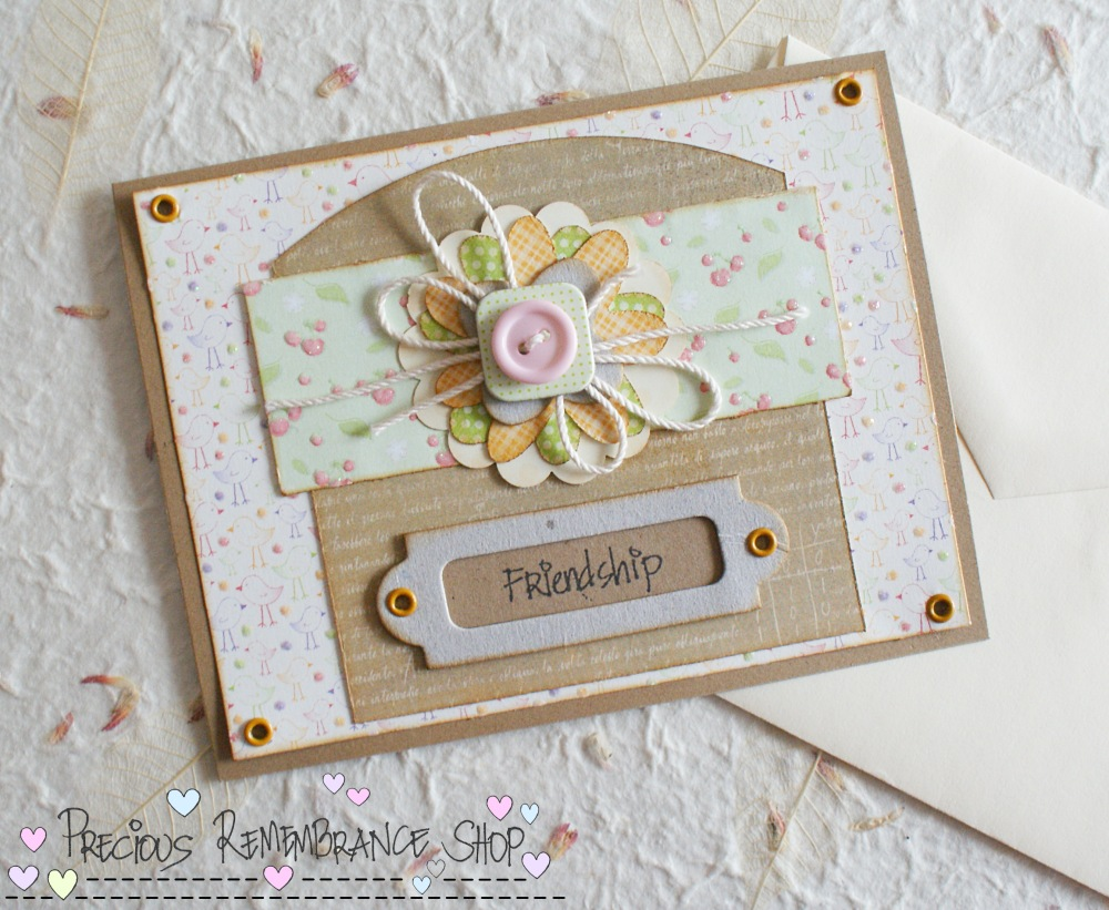 Cardmaking tutorial friendship card kristyandbryce Choice Image