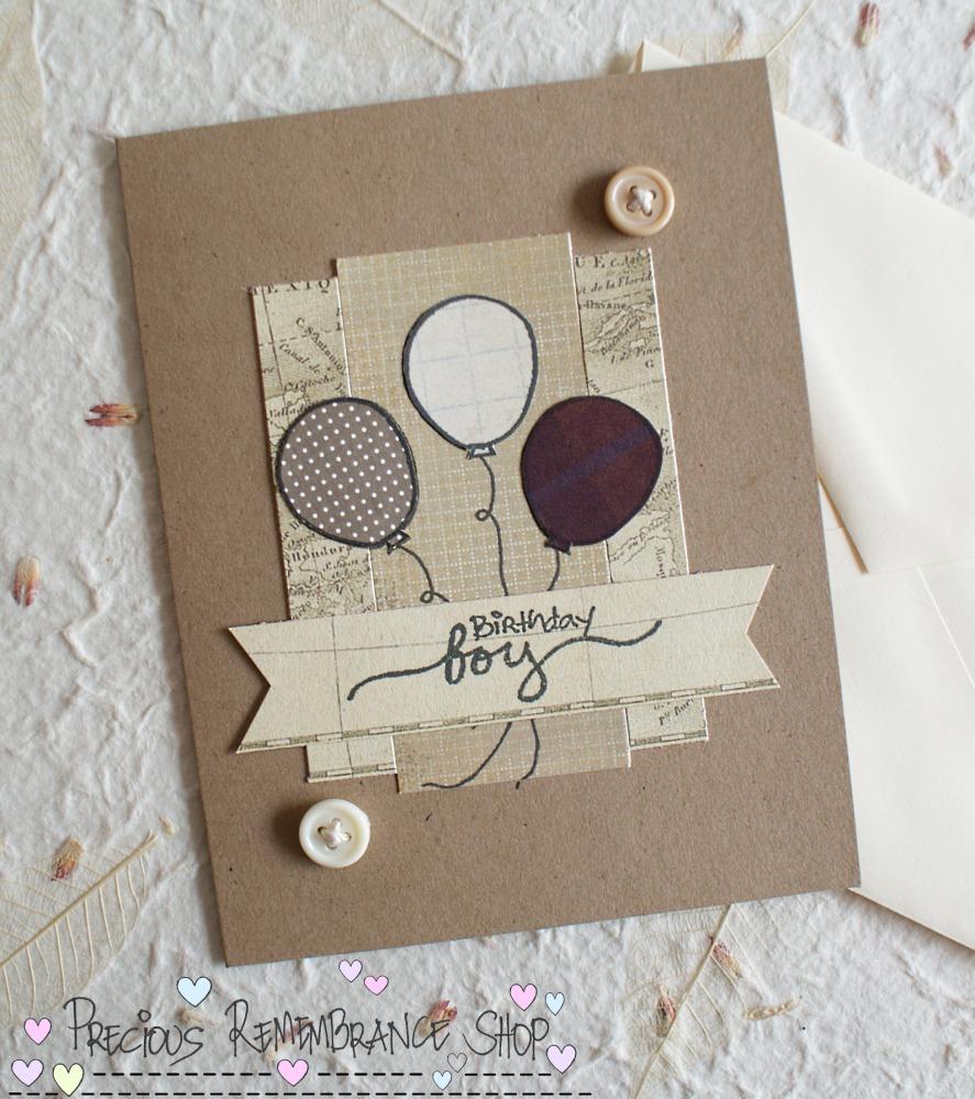 Cardmaking tutorial birthday boy card m4hsunfo