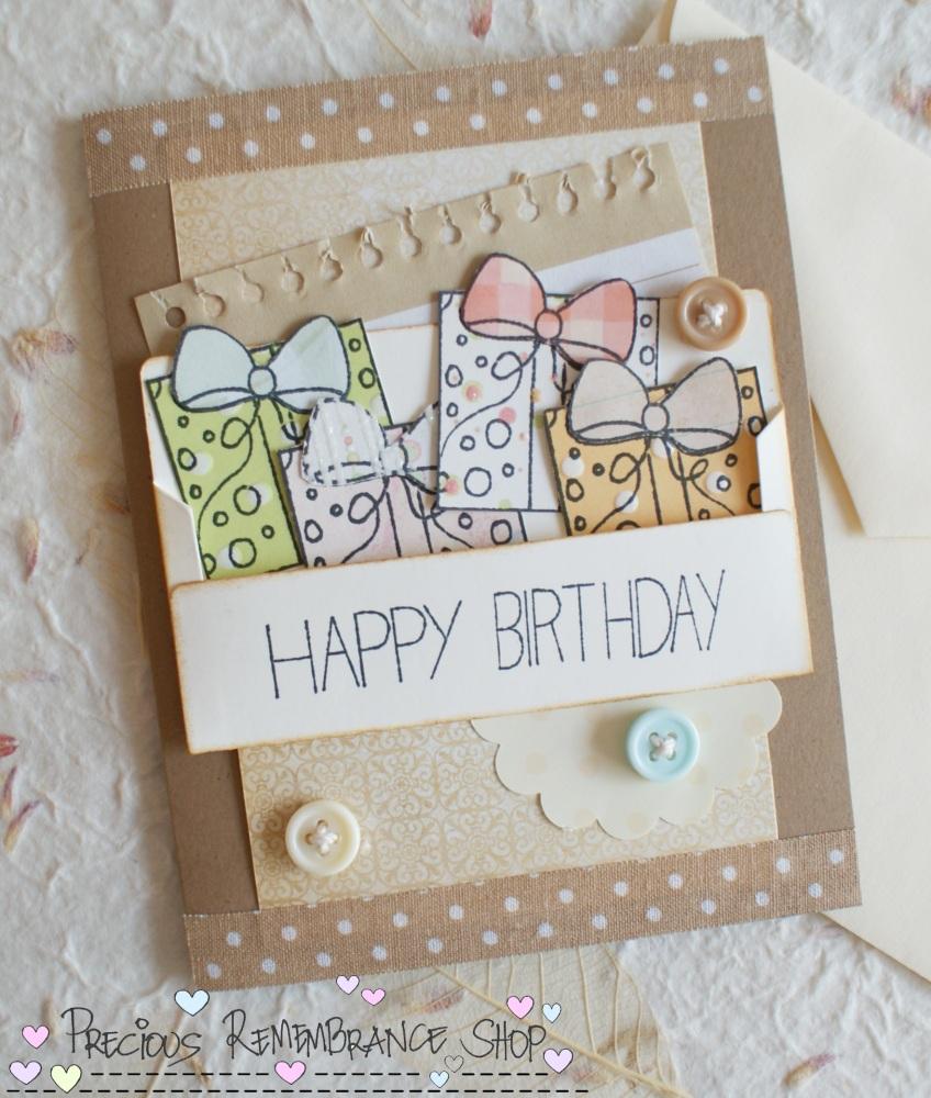 Cardmaking tutorial happy birthday card m4hsunfo