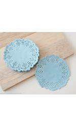 Mini - Blue Doilies