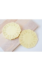 Mini - Yellow Doilies