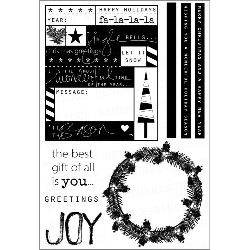 Joy Stamp Set